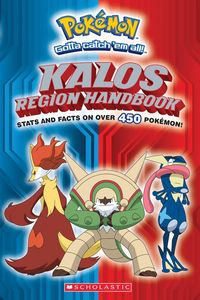 [Pokemon: Kalos Region Handbook (Product Image)]