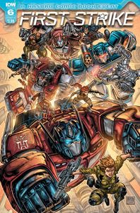 [First Strike #6 (Cover A Williams II) (Product Image)]