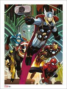 [Marvel: Giclee Print: Avengers 1 By John Romita Jr (Signed & Numbered) (Product Image)]