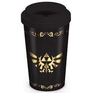 [Legend Of Zelda: Travel Mug: Triforce (Product Image)]