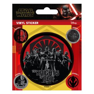 [Star Wars: The Rise Of Skywalker: Vinyl Sticker: The Knights Of Ren (Product Image)]