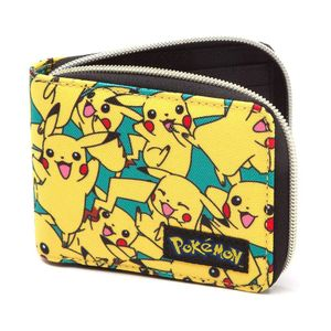 [Pokemon: Zip Wallet: All Over Pikachu (Product Image)]