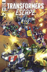 [Transformers: Escape #5 (Dan Khanna Variant) (Product Image)]
