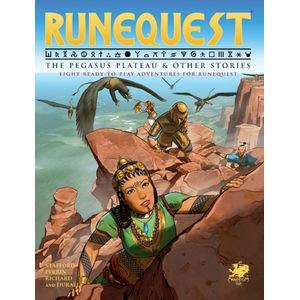 [RuneQuest: The Pegasus Plateau & Other Stories (Product Image)]