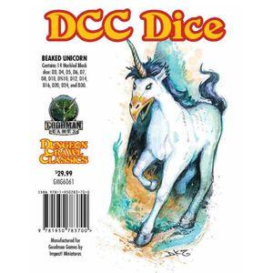 [Dungeon Crawl Classics: Dice: Beaked Unicorn (Product Image)]
