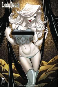 [Lady Death: Scorched Earth #1 (Naughty Edition) (Product Image)]