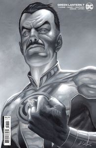 [Green Lantern #7 (Marco Santucci Cardstock Variant) (Product Image)]