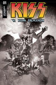 [Kiss: Phantom Obsession #1 (Cover K Sayger Black & White Variant) (Product Image)]