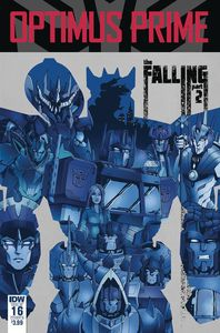 [Optimus Prime #16 (Cover B Coller) (Product Image)]