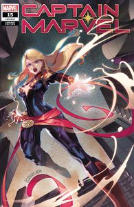 [Captain Marvel #15 (Zili Yu Chinese New Year Variant) (Product Image)]