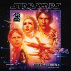 [Star Wars: 2018 Square Calendar: 40th Anniversary (Product Image)]