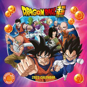 [Dragon Ball: 2022 Square Calendar (Product Image)]