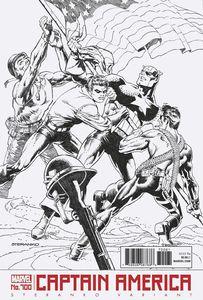 [Captain America #700 (Steranko Black & White Variant) (Legacy) (Product Image)]