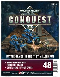 [Warhammer 40K: Conquest: Figurine Collection #48 (Product Image)]