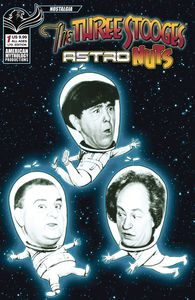 [The Three Stooges: Astro Nuts #1 (Photo Black & White Limited Cover) (Product Image)]