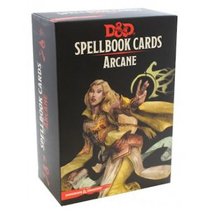 [Dungeons & Dragons: Spellbook Cards: Arcane (Product Image)]