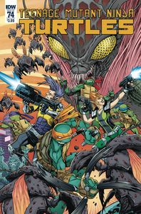 [Teenage Mutant Ninja Turtles: Ongoing #74 (Cover A Smith) (Product Image)]