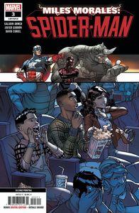 [Miles Morales: Spider-Man #3 (2nd Printing Garron Variant) (Product Image)]