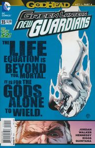 [Green Lantern: New Guardians #35 (Godhead) (Product Image)]