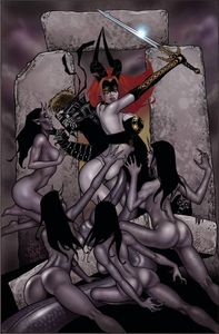 [Tarot: Witch Of The Black Rose #105 (Product Image)]