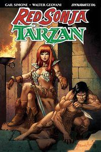 [Red Sonja/Tarzan #6 (Cover B Davila) (Product Image)]