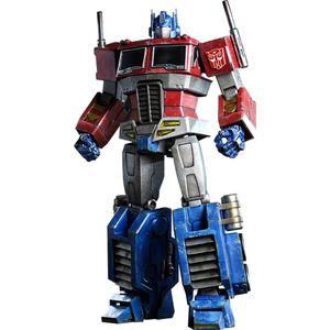 [Transformers: Hot Toys: Deluxe Action Figure: Optimus Prime (Starscream Version) (Product Image)]
