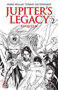 [Jupiter's Legacy: Requiem #2 (Cover C Sook Black & White) (Product Image)]