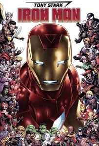 [Tony Stark: Iron Man #15 (Cheung Marvel 80th Frame Variant) (Product Image)]
