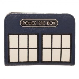 [Doctor Who: Bi-Fold Wallet: Tardis (Product Image)]