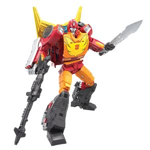 [Transformers: Generations: War For Cybertron: Action Figure: Kingdom Commander WFC-K29 Rodimus Prime (Product Image)]