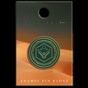 [Dune: Enamel Pin Badge: House Atreides (Product Image)]