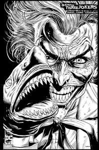 [Batman: Three Jokers #1 (Of 3) (2nd Printing B&W Jason Fabok Variant) (Product Image)]