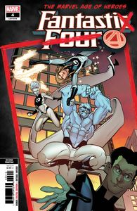[Fantastic Four #4 (2nd Printing Caselli Variant) (Product Image)]