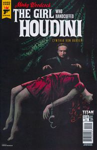 [Minky Woodcock: The Girl Who Handcuffed Houdini #4 (Cover B Variant) (Product Image)]