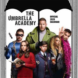 [Umbrella Academy: Square Calendar: 2020 (Product Image)]