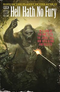 [Kong On Planet Of Apes #3 (Subscription Dalton Variant) (Product Image)]