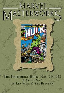 [Marvel Masterworks: Incredible Hulk: Volume 13 (Dm Variant Edition 279 Hardcover) (Product Image)]