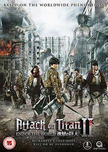 [Attack On Titan: The Movie: Part 2: End Of The World (Product Image)]