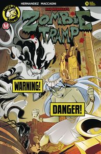 [Zombie Tramp: Ongoing #75 (Cover B Maccagni Risque) (Product Image)]