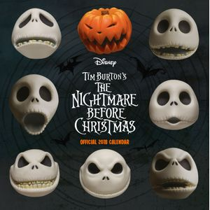 [The Nightmare Before Christmas: 2018 Square Calendar (Product Image)]