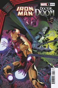 [King In Black: Iron Man/Doctor Doom #1 (Mora Variant) (Product Image)]