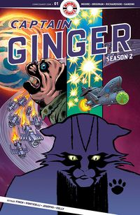 [The cover for Captain Ginger: Season 2 #1]