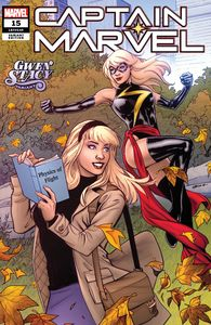 [Captain Marvel #15 (Lupacchino Gwen Stacy Variant) (Product Image)]