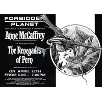 [Anne McCaffrey signing The Renegades of Pern (Product Image)]