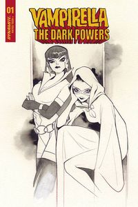 [Vampirella: Dark Powers #1 (Momoko Black & White Variant) (Product Image)]