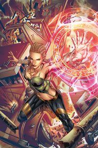[The cover for Myths & Legends Quarterly: Gretel #2 (Cover A Vitorino)]