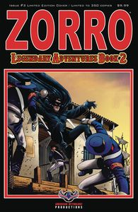 [Zorro: Legendary Adventures: Book 2 #3 (Blazing Blades Limited Edition C) (Product Image)]