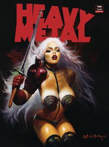 [Heavy Metal #308 (Cover A Kelly) (Product Image)]