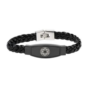 [Star Wars: Braided Leather Bracelet: Empire (Product Image)]