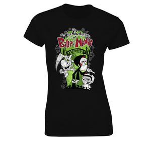 [The Grim Adventures Of Billy & Mandy: Women's Fit T-Shirt: The Trio (Product Image)]